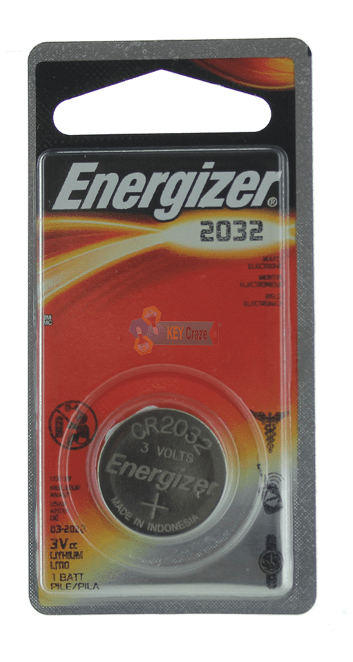 ENERGIZER CR-2032 3V / SINGLE CARDED