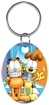 KEY CHAIN - GARFIELD & ODIE