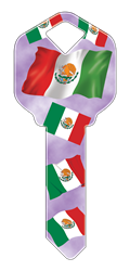 HAPPY KEY - MEXICAN FLAG