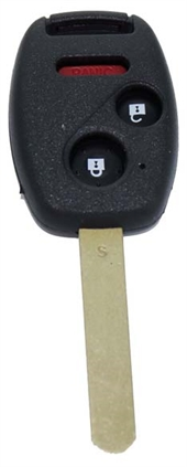 HONDA 3 BUTTON KEY SHELL