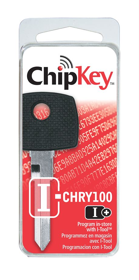 I-CHRY100 CHRYSLER R/W CHIPKEY