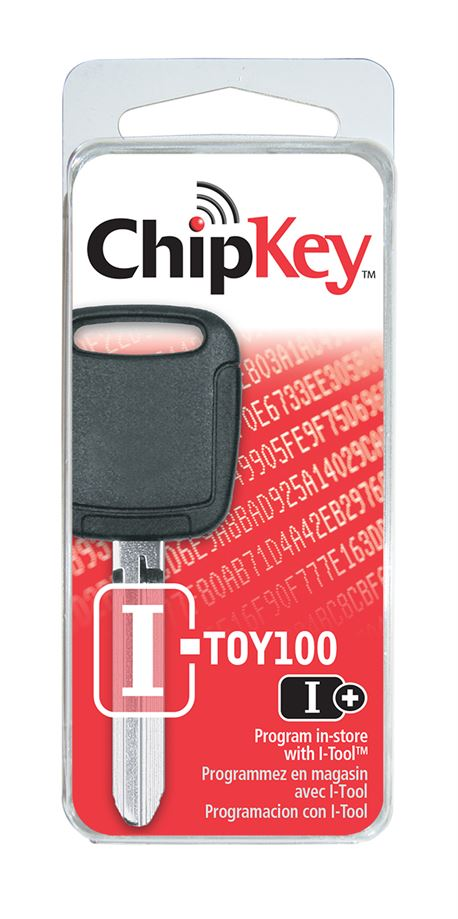 I-TOY100 TOYOTA R/W CHIPKEY