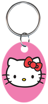 KEY CHAIN - HELLO KITTY PINK