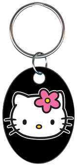 KEY CHAIN - HELLO KITTY BLACK
