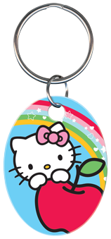KEY CHAIN - HELLO KITTY BLUE