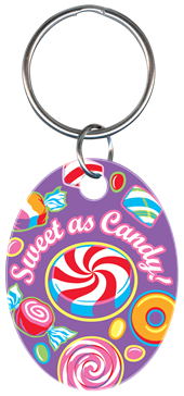 SWEET AS CANDY KEYCHAIN