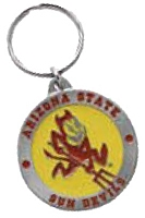 ARIZONA SUN DEVILS KEY CHAIN