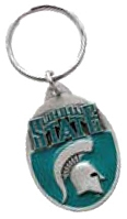 MICHIGAN SPARTANS KEY CHAIN