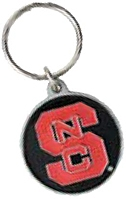 NORTH CAROLINA WOLF PACK KEY CHAIN