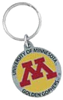 MINNESOTA GOLDEN GOPHERS KEY CHAIN