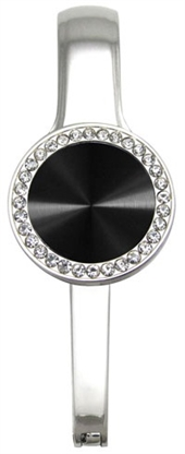 MyBagPal Black Rhinestone Circle (DISCONTINUED)