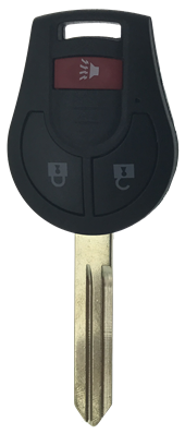 NISSAN 3 BUTTON REMOTE KEY SHELL