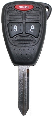 CHRYSLER 3 BUTTON KEY SHELL