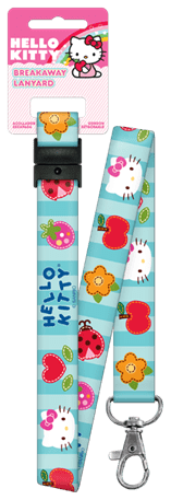 HELLO KITTY BLUE LANYARD