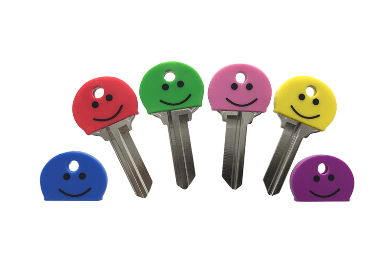 SMILEY KEY CAPS, 100/BOX