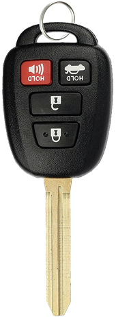 TOYOTA 4 BUTTON REMOTE KEY SHELL