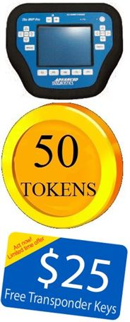 50 TOKENS for MVP Pro with $25 FREE KEYS
