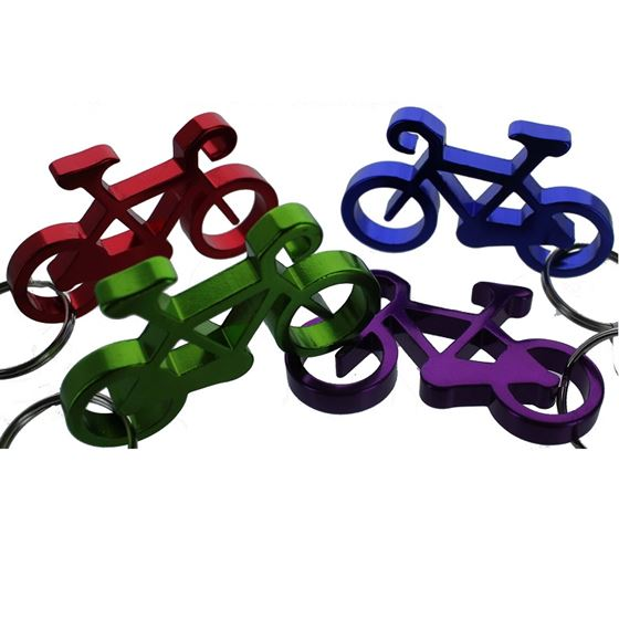 BIKE BOTTLE OPENER, ASST COLORS