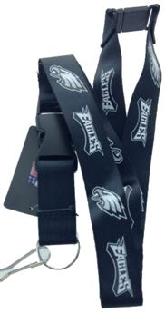 Philadelphia Eagles Black Lanyard