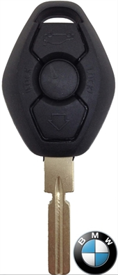 BMW 3 BUTTON KEY SHELL