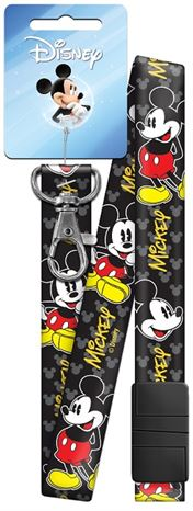 DSL1-MICKEY MOUSE LANYARDS