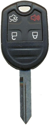 FORD 4 BUTTON KEY SHELL