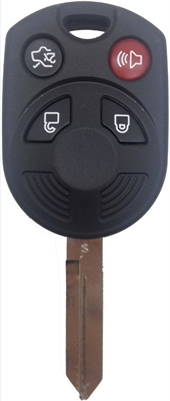 FORD - 4 BUTTON KEY SHELL