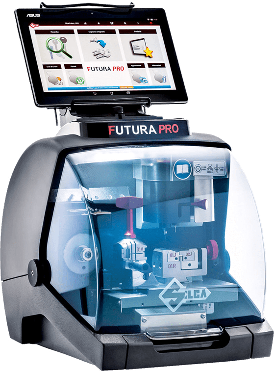 FUTURA PRO - Advanced Electronic Key Cutting Machine