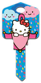 KW1 HELLO KITTY RAIN OR SHINE
