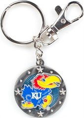 KANSAS JAYHAWKS KEY CHAIN