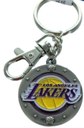 LOS ANGELES LAKERS KEY CHAIN