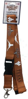 TEXAS LONGHORNS LANYARDS