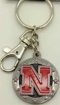 NEBRASKA CORNHUSKERS KEY CHAIN