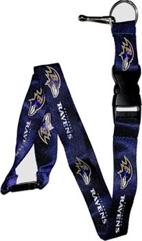 Baltimore Ravens Purple Lanyard