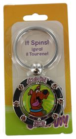 SCOOBY DOO SPINNER KEY RING