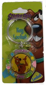 SCOOBY DOO LOCKET KEY RING