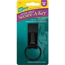 WIDE BELT SECURE-A-KEY,1/CD