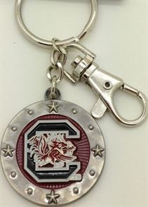 SOUTH CAROLINA GAMECOC KEY CHAIN