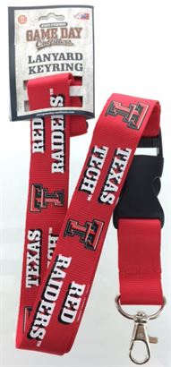 TEXAS TECH RED RAIDERS LANYARDS