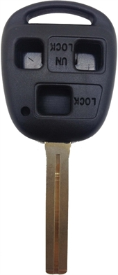 TOYOTA LEXUS TOY40- 3 BUTTON KEY SHELL (LONG)