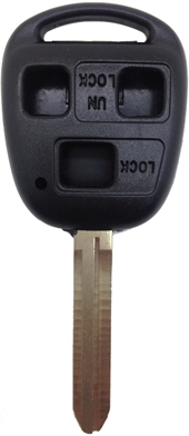 TOYOTA TOY43- 3 BUTTON KEY SHELL