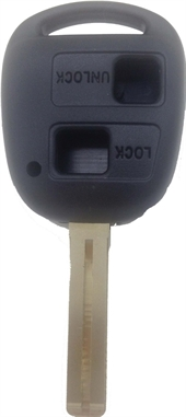 TOYOTA LEXUS TOY48- 2 BUTTON KEY SHELL