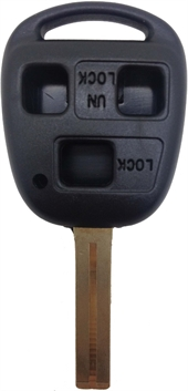 TOYOTA LEXUS TOY48- 3 BUTTON KEY SHELL