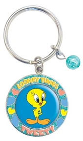 TWEETY LOCKET KEY RING