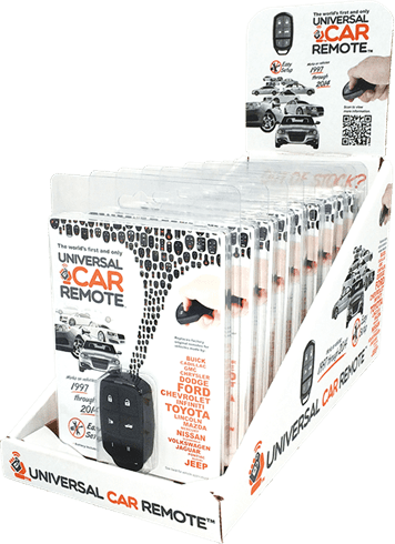 UNIVERSAL CAR REMOTE PRO 6/DISPALY