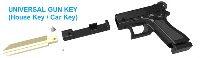 3d Gun Key Blanks