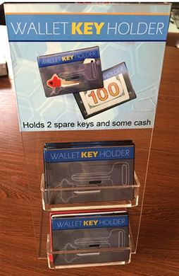 WALLET KEY HOLDER 24/DISPLAY